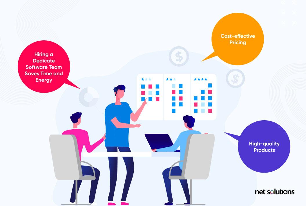advantages of hiring a dedicated software team
