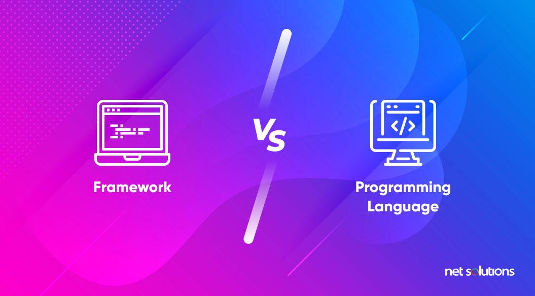 framework vs programming language