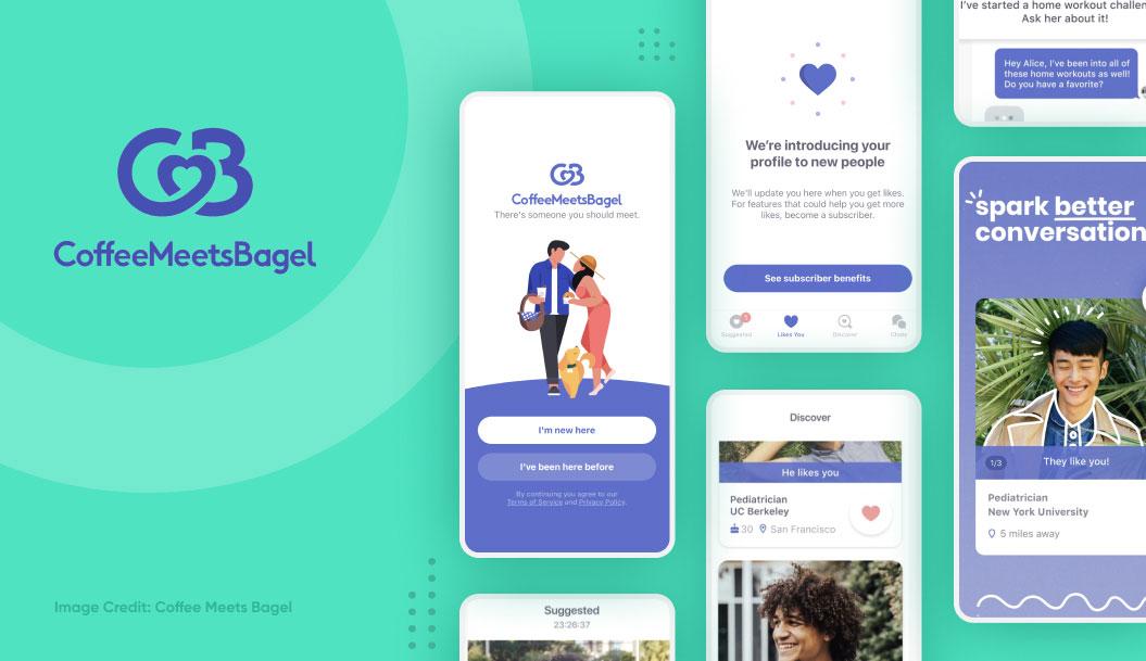 most popular dating apps - coffeemeetsbagel