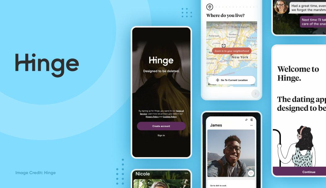 popular dating apps - hinge