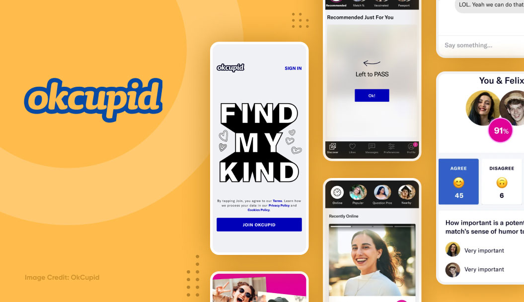 top dating apps - okcupid